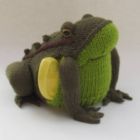Frog Tea Cosy Knitting Pattern