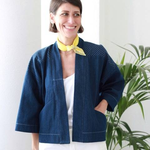The Wooster Jacket PDF Pattern
