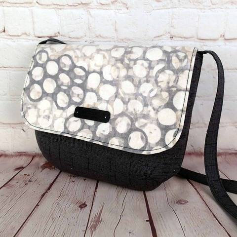 Oxford Purse easy shoulder bag with video tutorial