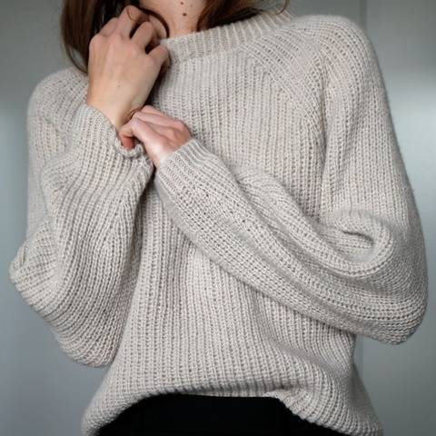 COMING SOON Sweater // STRICKANLEITUNG