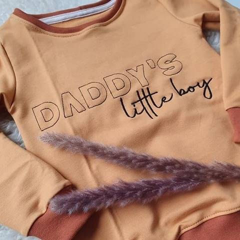 Stickdatei daddy's little boy