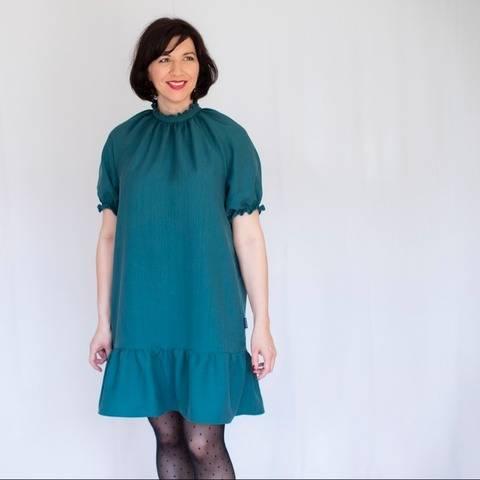 Curcuma Blouse & Dress, Size 34-54, PDF Sewing Pattern