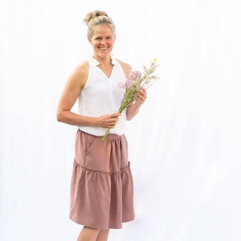 Salvia Skirt, Size 34-54, PDF Sewing Pattern at Makerist