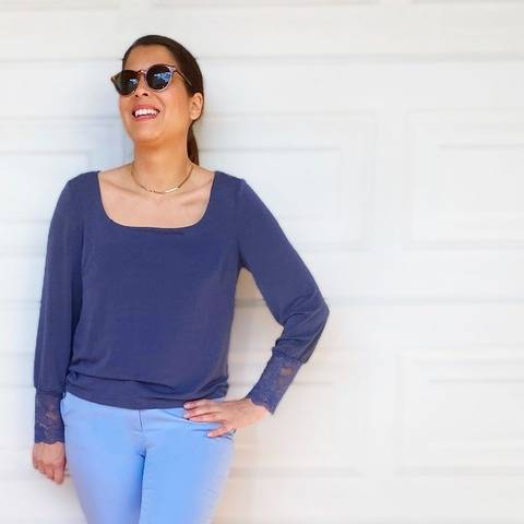 Chic & Comfy Blouse - eBook Schnittmuster