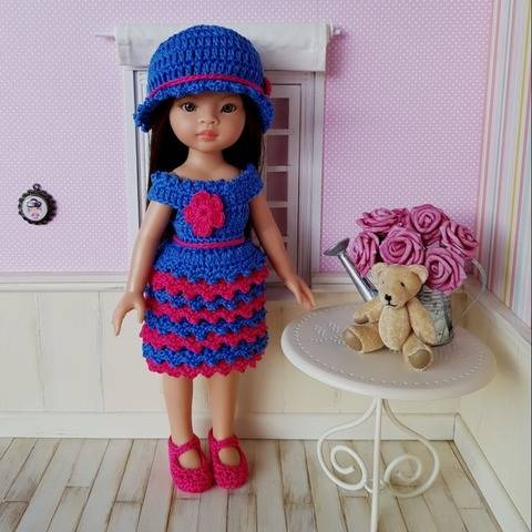 """""""Rosy"""" crochet pattern for Paola Reina"""