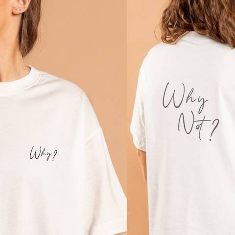 Why / Why not?! Cutting File SVG, PNG, DXF