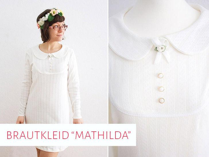 """Brautkleid / Hochzeitskleid """"Mathilda"""" bei Makerist - Bild 1"""