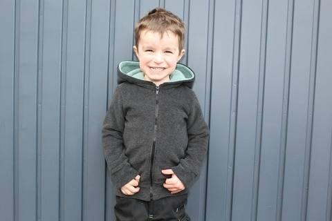 ✂Schnittmuster Mini-Vik ✂ Fleecejacke für kleine Jungs und Mädchen