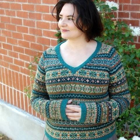 Humboldt Fair-Isle sweater