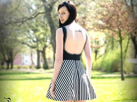 The Backless Dress Schnittmuster & Anleitung by Sewera bei Makerist