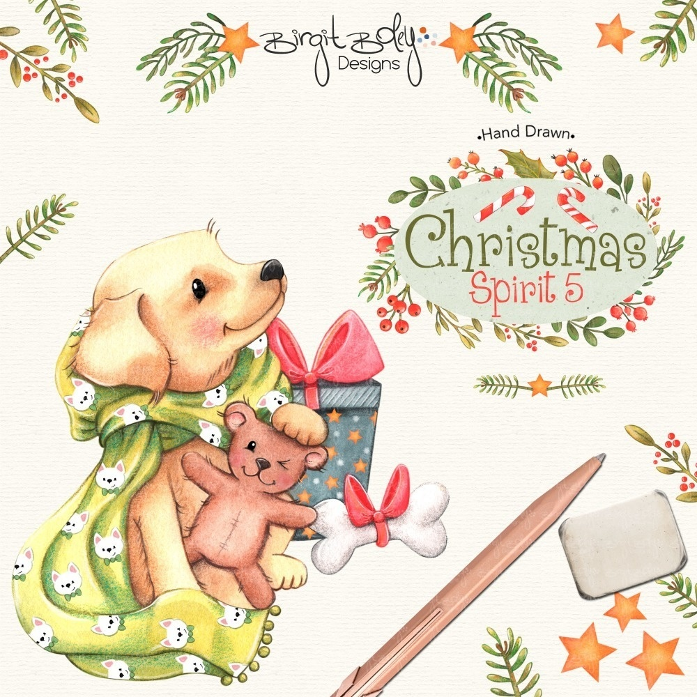 DigiStamp Christmas Spirit 05