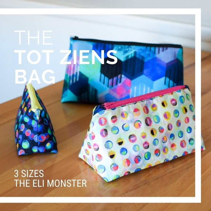 The Tot Ziens Sewing Pattern, 3 Sizes