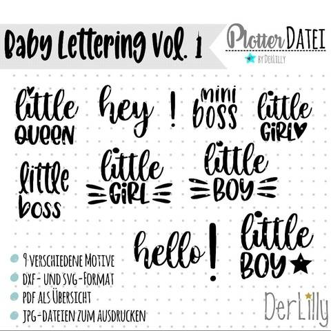 Baby lettering Vol. 1