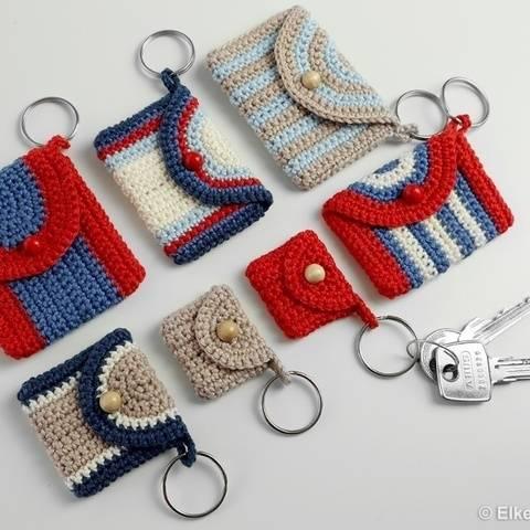 Täschchen in 5 Größen - Schlüsselanhänger, Geschenktäschchen