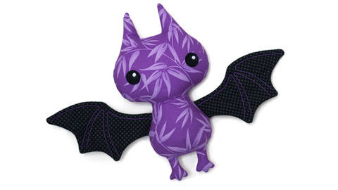 Stuffed animal Bat sewing pattern at Makerist