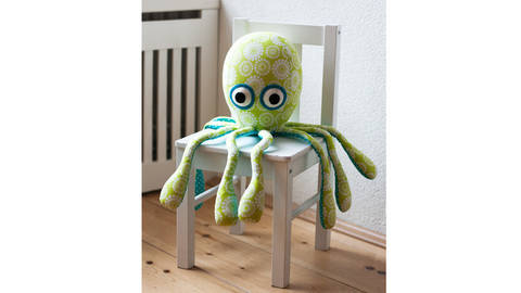 Octopus sewing pattern