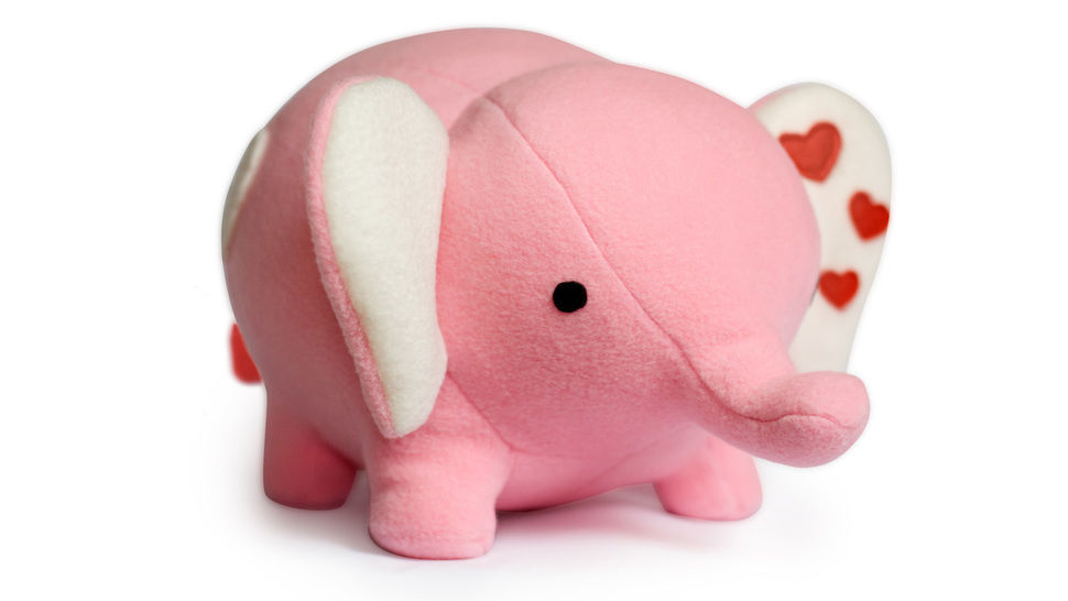 Elephant toy sewing pattern  at Makerist - Image 1