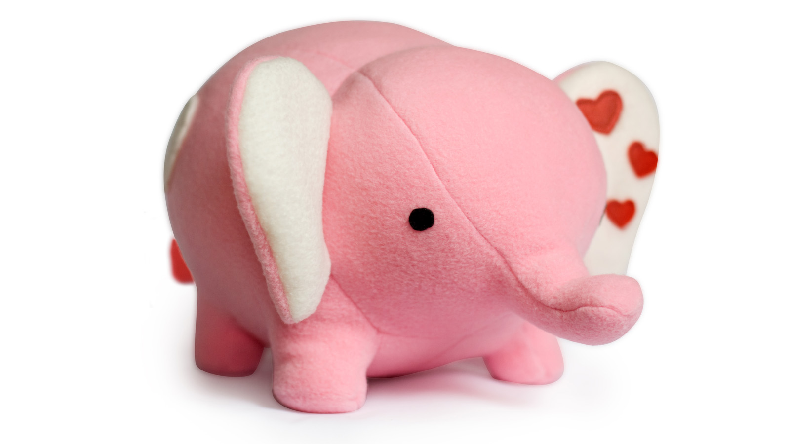 Elephant toy sewing pattern