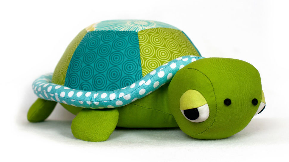 Turtle Tortoise sewing pattern  at Makerist - Image 1