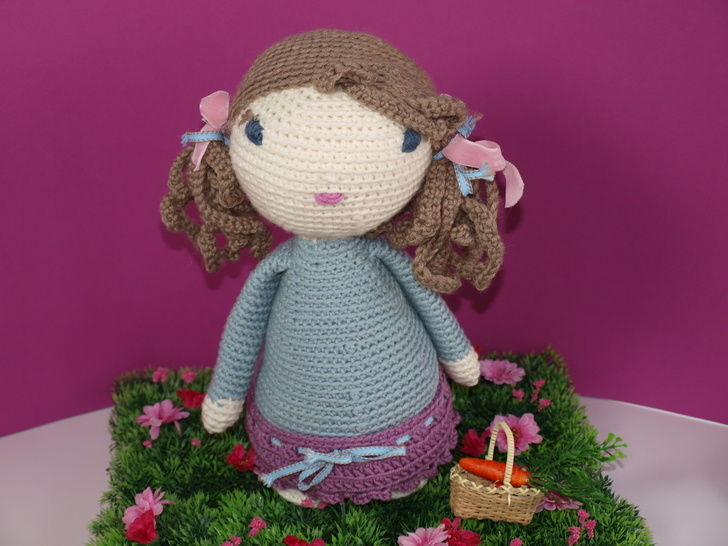 Crochet Doll Tutorial - Lucy at Makerist - Image 1