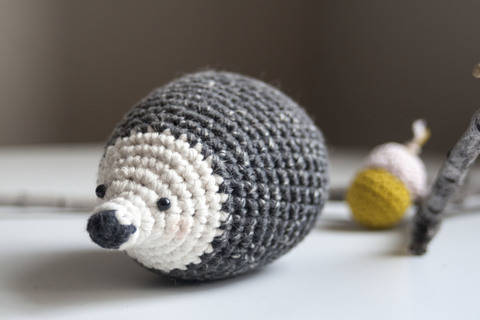 Hedgehog - Detailed Pattern at Makerist