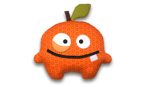 Orrico the Orange sewing pattern - ENGLISH version