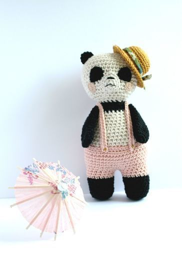 Panda-Sun - Detailed Pattern at Makerist - Image 1
