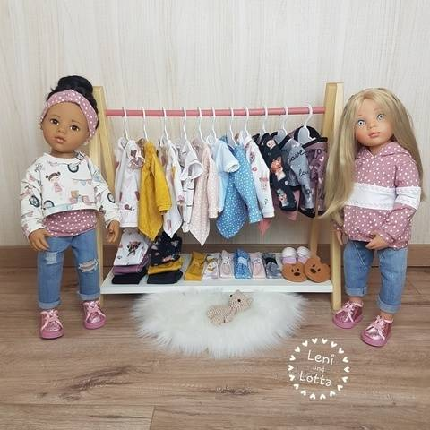 *Dress up your Doll* - Stehpuppen in grösse 46-48-50cm