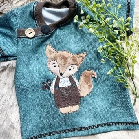 Stickdatei frecher Fuchs