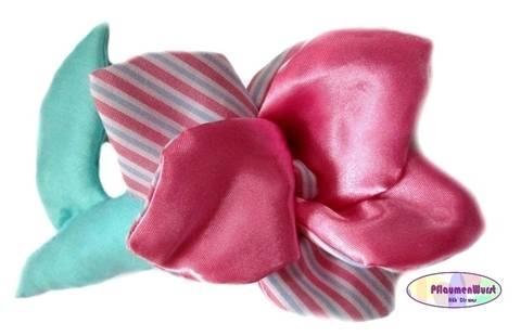 Nähanleitung Greifling Blume Spielzeug Baby Rose Schnitt bei Makerist
