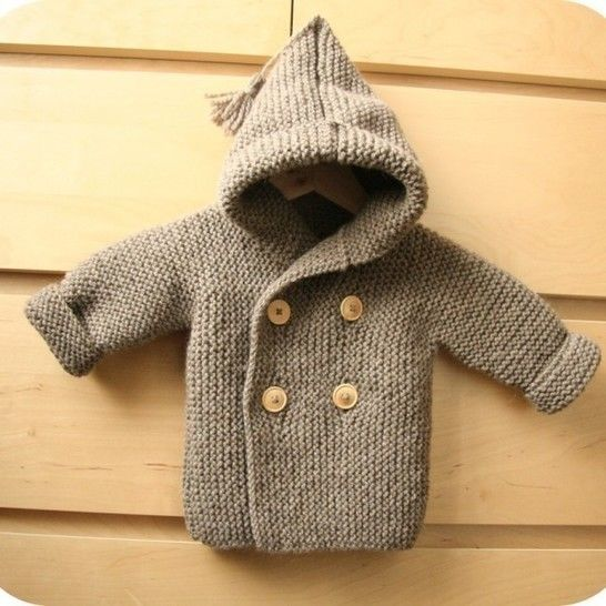 Manteau de Lino bébé T 9/12 mois- tricot gratuit chez Makerist - Image 1