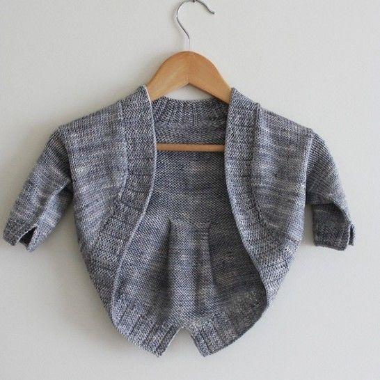 Petite Fille Modèle - Boléro  2-10a - Tricot chez Makerist - Image 1