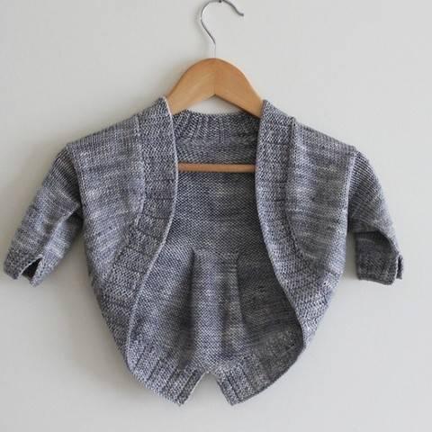 Petite Fille Modèle - Boléro  2-10a - Tricot chez Makerist