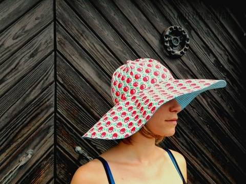 Trudi Nähanleitung/ Ebook SonnenSommerRegenHut  bei Makerist