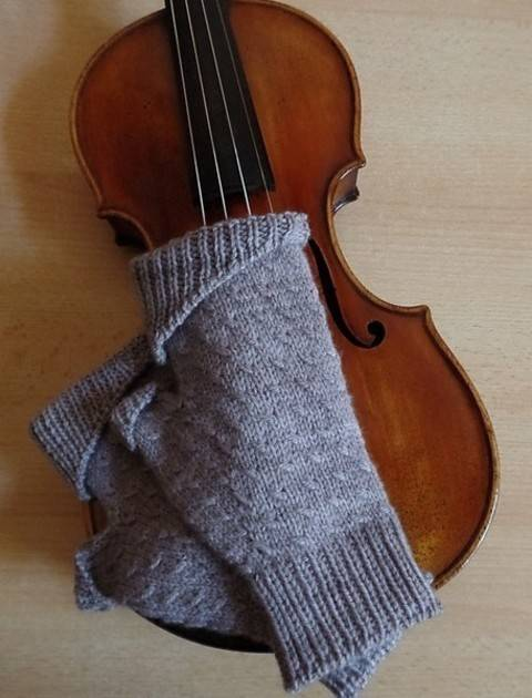 Coralie's mitts - Mitaines S M L- Tricot