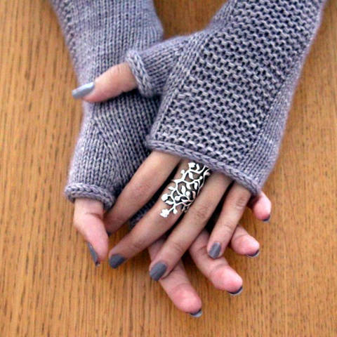 Heaven Mitts - Mitaines S M L - Tricot chez Makerist