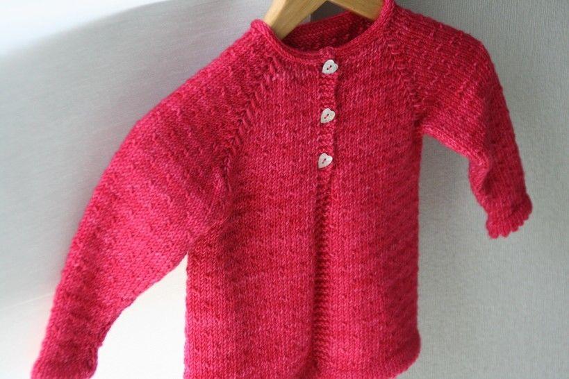 Semis de Printemps - Cardigan bebe&enfant 1m-10a - Tricot chez Makerist - Image 1