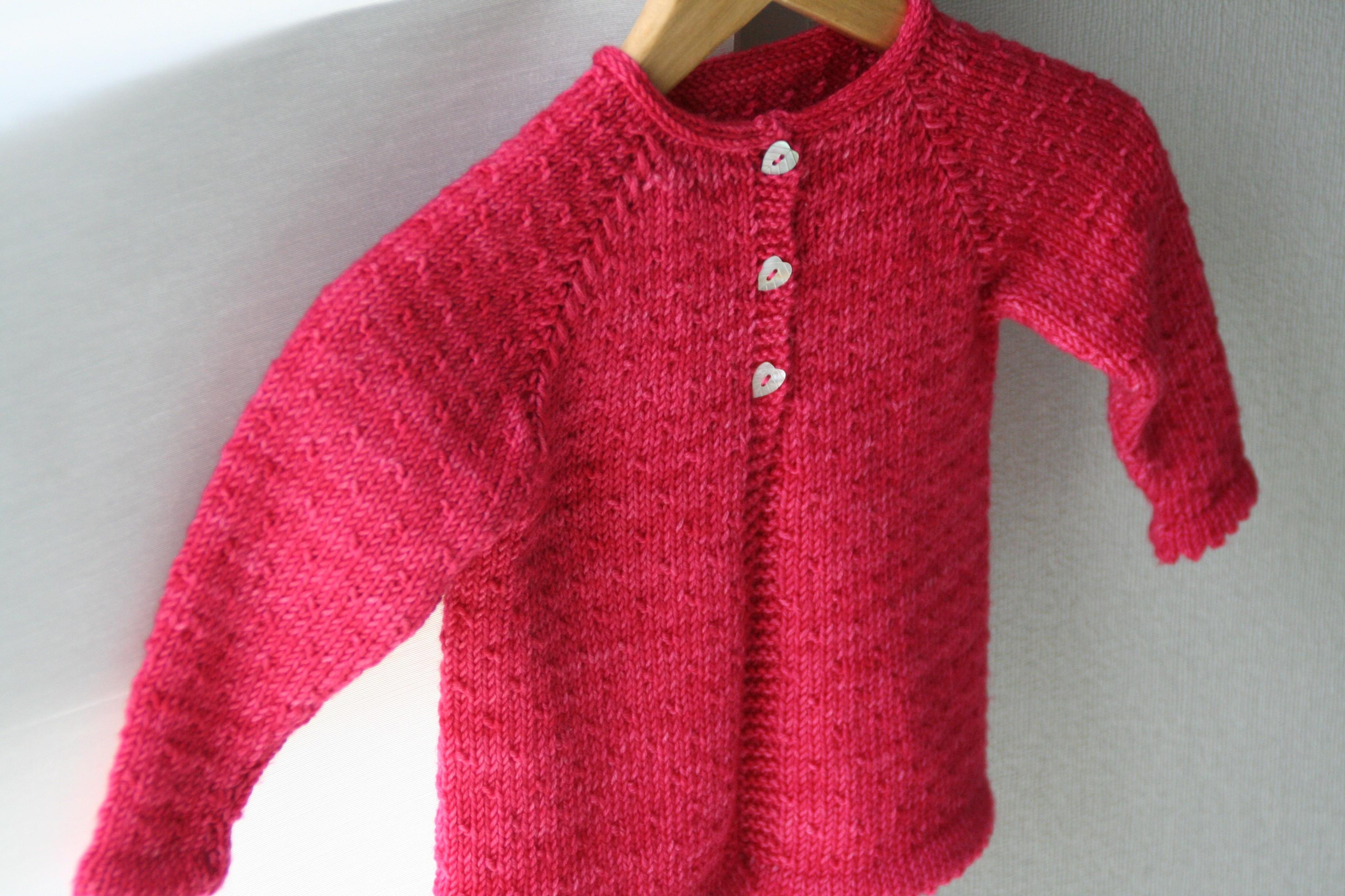 Semis de Printemps - Cardigan bebe&enfant 1m-10a - Tricot