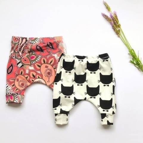 Baby and toddler pants leggings sewing pattern