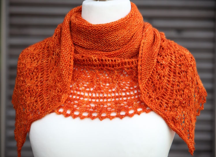 Le Bal des Papillons Shawl - Knitting  at Makerist - Image 1