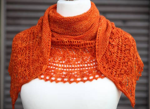 Le Bal des Papillons Shawl - Knitting  at Makerist