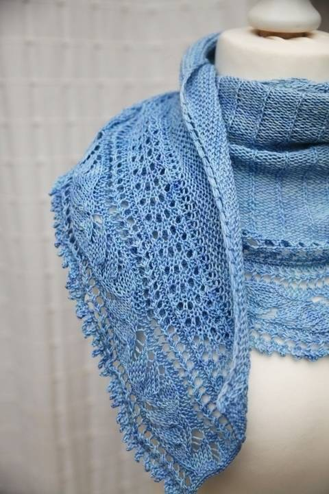 L'Envolée Shawl - Knitting at Makerist