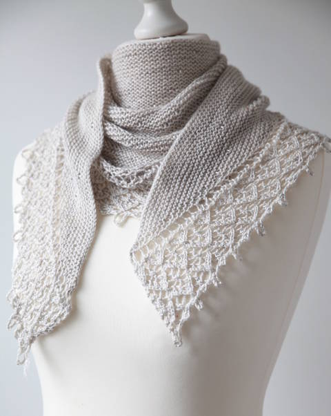 Pearls of Dew Shawl - Knitting at Makerist