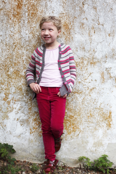 Napolitain Children's Cardigan - Knitting