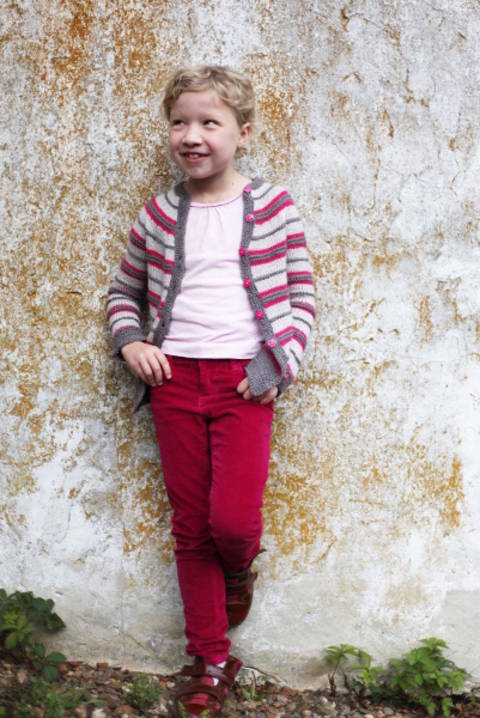 Napolitain Children's Cardigan - Knitting at Makerist
