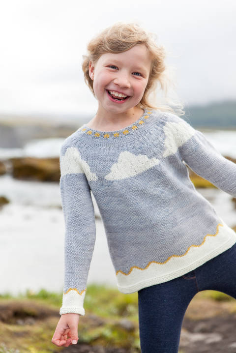 Little Vedur Children's Jumper - Knitting at Makerist