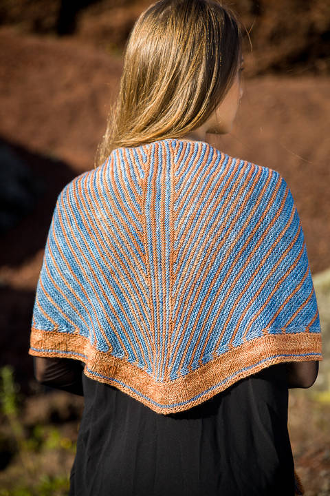 Namafjall Shawl - Knitting