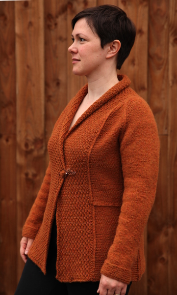 Crossbow Cardigan - Knitting