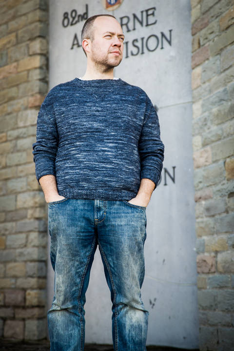 Trooper Men's Jumper - Knitting at Makerist
