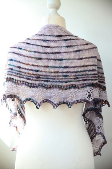 Turbulences Shawl - Knitting at Makerist - Image 1